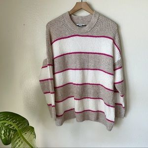 American Eagle   Striped Soft Knit Sweater